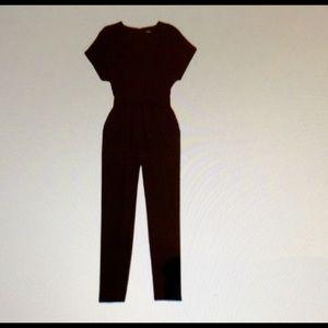 Donna Karan Drop Shoulder XL Jumpsuit NWT